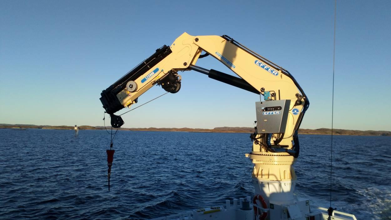 Marine Knuckle Boom Cranes Shm Solutions