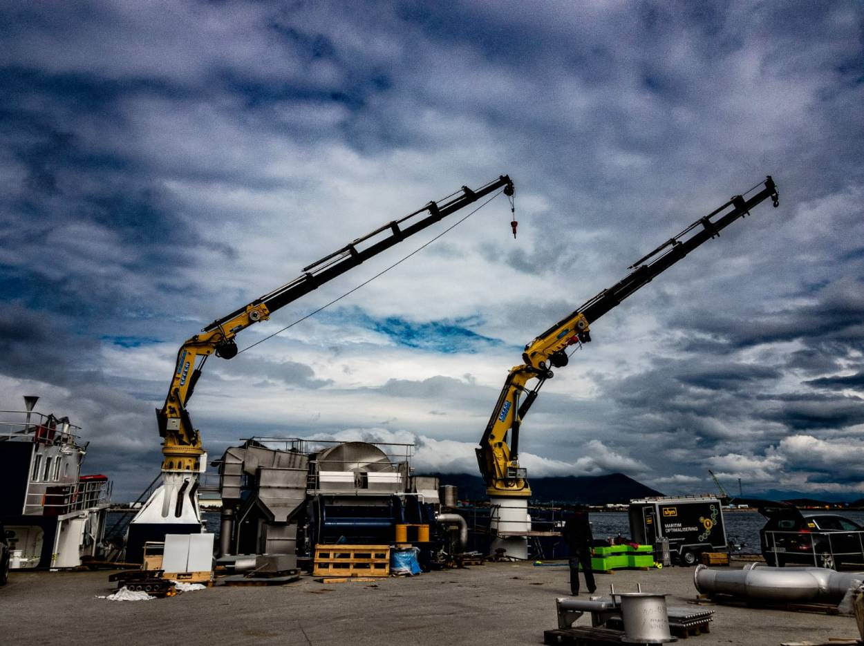 Cranes and lifting devices